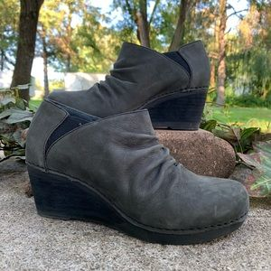 Dansko Sheena Slouchy Wedge Bootie
